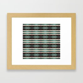 Vintage Striped Pattern - Westin Inspired Framed Art Print