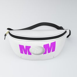 Funny Volleyball Mom design Gift for Sport Mothers Fanny Pack