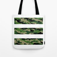 camo Tote Bags featuring Camo by angelasoto