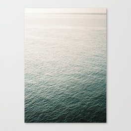 "Coastal beach photography ""Free as the ocean""   Modern wall Art Sea Ibiza Canvas Print"