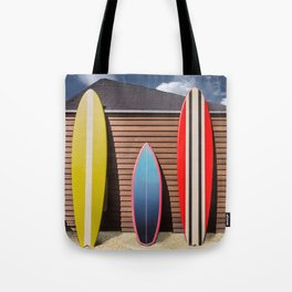 Surfing Morning Tote Bag