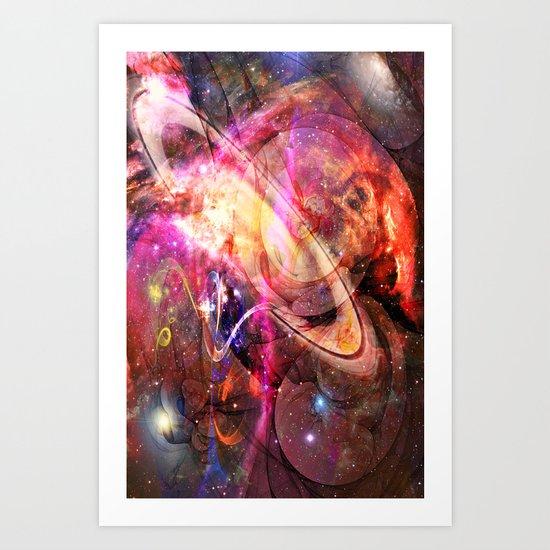 The Crazy Universe Art Print
