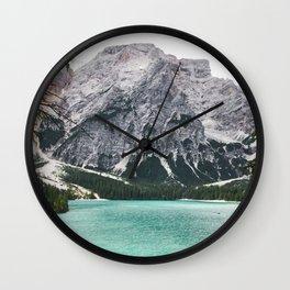 Glacial Heaven Wall Clock