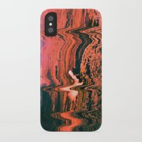 glitch iPhone & iPod Cases featuring Glitch by Bethany West