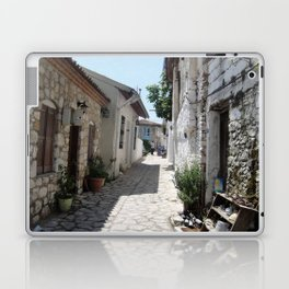 The Cobbled Back Streets Surrounding Old Marmaris Laptop & iPad Skin