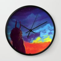 homestuck Wall Clocks featuring Constellations by gravityjump