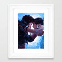 korrasami Framed Art Prints featuring Korrasami by Sabuchan