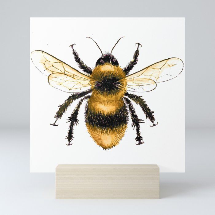 Bumble Bee Mini Art Print