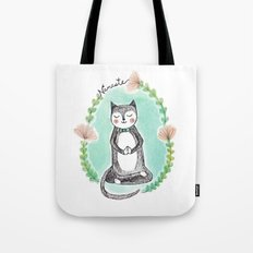 Yoga Cat Tote Bag