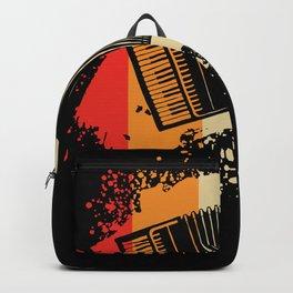 Accordion - Nice Retro Design Backpack