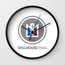 SpelHouse Swag Wall Clock