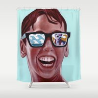 mucha Shower Curtains featuring This Magic Moment by Jared Yamahata