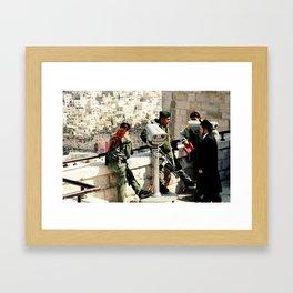 Religious Wars Framed Art Print