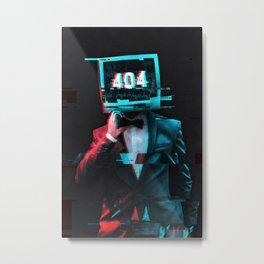 404 Metal Print