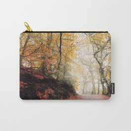Path through the Autumn Forest Carry-All Pouch