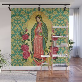 Guadalupe Wall Mural
