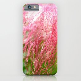Pink Costa Rican Flower iPhone Case