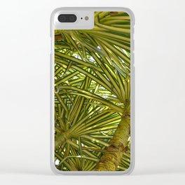 Pandanus Sanderi Clear iPhone Case