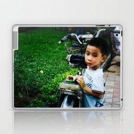 Boy in Hanoi Laptop & iPad Skin