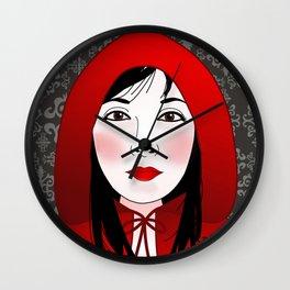 Little riding red hood Wall Clock
