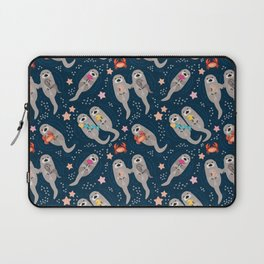 Otters Playing Laptop Sleeve