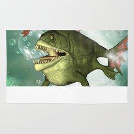Armour fish Rug