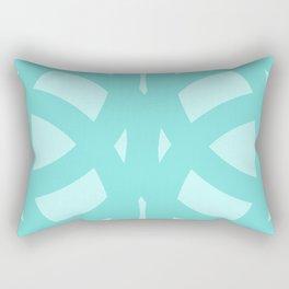 Celtic Knots in Teal Rectangular Pillow