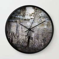 lace Wall Clocks featuring LACE by ED design for fun