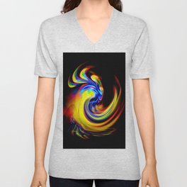 Abstract Perfection 15 Unisex V-Neck