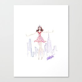 NYC Dancer Canvas Print