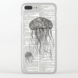 Free Floating Trio Clear iPhone Case
