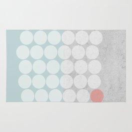 Concrete Dots Rug