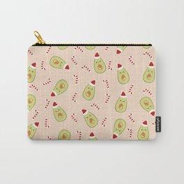 Avocado Christmas Carry-All Pouch