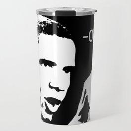 Don't Boo. Vote. | Barack Obama Quote Travel Mug