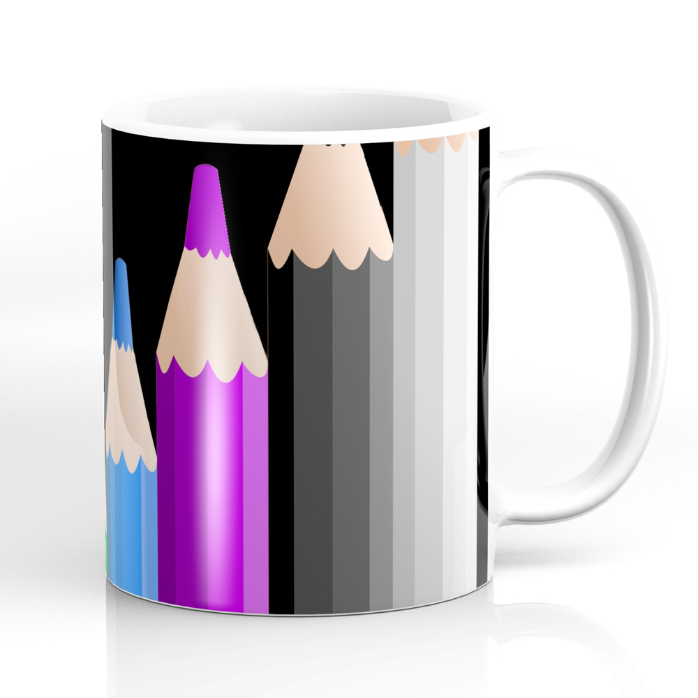 ColoredPencils Mug by beckybetancourt