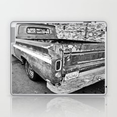Nearing The End of the Road (B&W) Laptop & iPad Skin