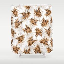 Thorny devil Shower Curtain