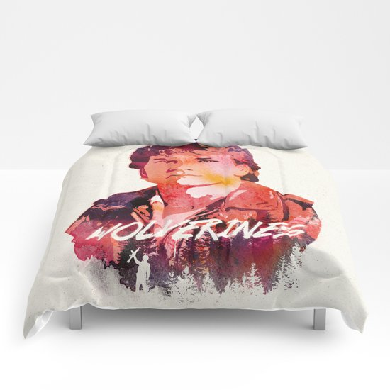 The rising red star Comforters