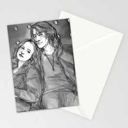 Guitar Pick Stationery Cards