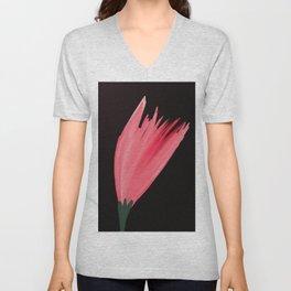 Simple floral beauty Unisex V-Neck