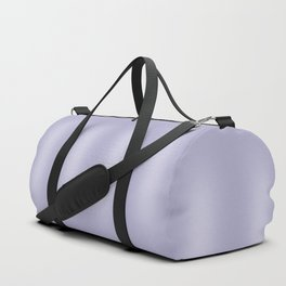 Frosted Lilac Stripes Duffle Bag