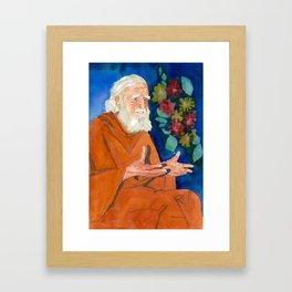 Bede Griffiths: Sage & Monk Framed Art Print