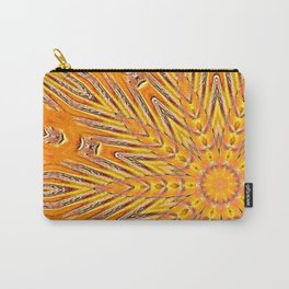 Sunny Side Bubble Dot Pattern 3 Carry-All Pouch