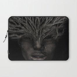 Tree man. Double exposure portrait by T.Amrein Laptop Sleeve