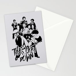 get down on it Stationery Cards