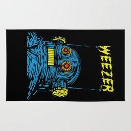Weezer Monster Art Rug