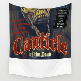 """Canticle of the Dead"" Movie Poster Wall Tapestry"