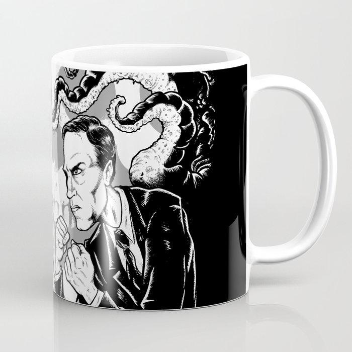 Poe vs. Lovecraft Coffee Mug