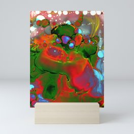 Nebula Contemporary Abstract Painting Mini Art Print