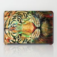 tiger iPad Cases featuring Tiger by nicebleed